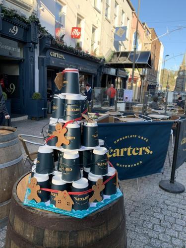 Carters coffee pyramid
